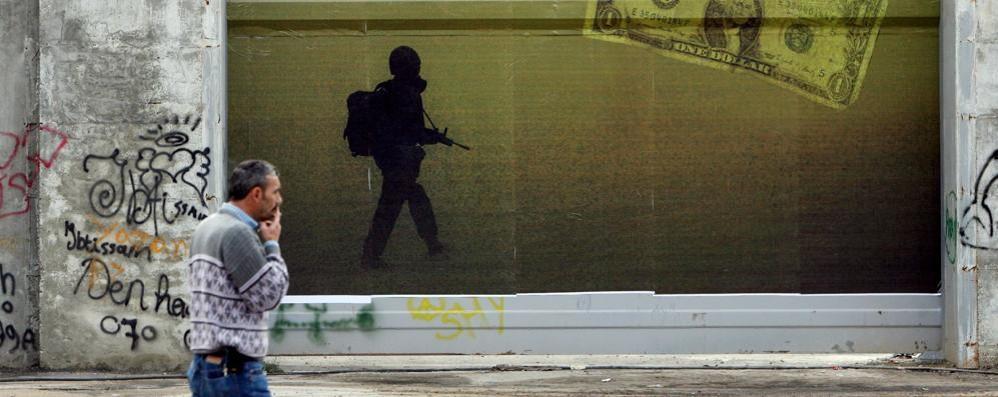Lo sguardo del cinema sull'arte  Al Grumello il Banksy rubato