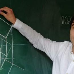 Antonio, il più bravo in matematica   Sul podio nella selezione europea