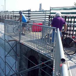 Il ponte San Michele di Paderno  corre veloce verso la riapertura
