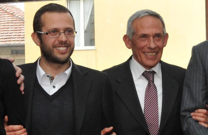 Stefano e Antonio Pennestrì in una foto di qualche anno fa