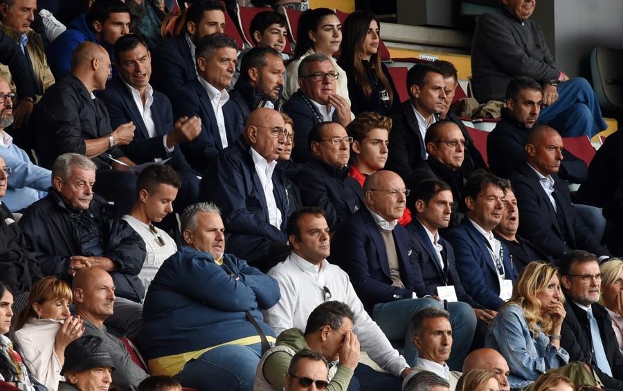 Il match clou Lecco Monza  con Berlusconi in tribuna