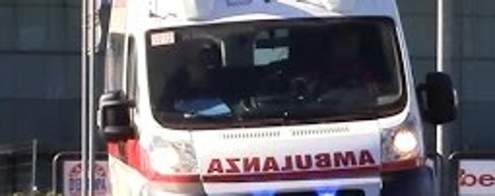 Incidente ad Alzate Brianza Ferito un ragazzo di 14 anni