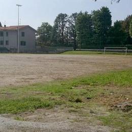 Olgiate, i vecchi pneumatici si riciclano  Campo sportivo sistemato da Ecopneus