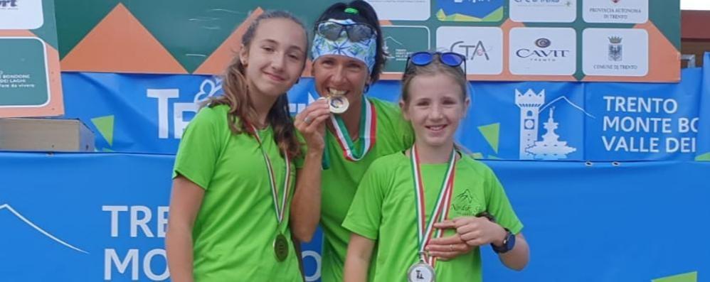 Paola Beri campionessa italiana  Le due figlie la imitano in coppa