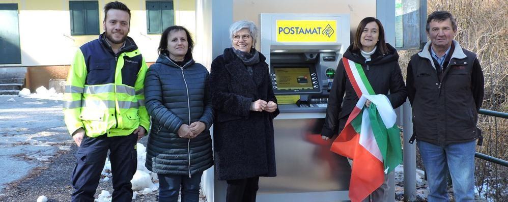 Morterone, residenti e turisti meno isolati  Arriva il Postamat tecnologico