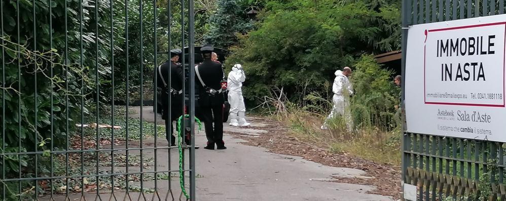 Il cadavere ritrovato a Villa Ciardi  È un uomo morto già da quasi un anno