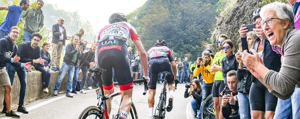 Il Giro d'Italia venerdì sarà a Como Via dal centro, si passa da San Fermo