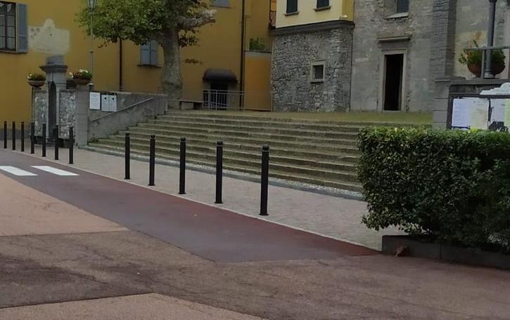 Il ritorno all'antico nel centro di Varenna  Porfido e strade chiuse