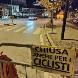 Strada Lariana chiusa   Ultimatum da Oliveto
