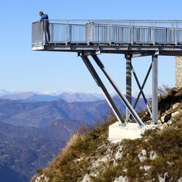 Il belvedere ai Resinelli infiamma  «Ma sulle Alpi ce ne sono molti»