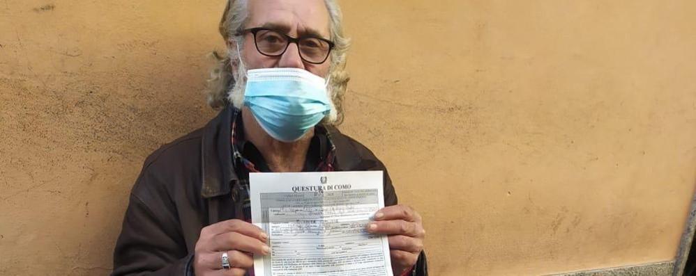 Como: la multa al senzatetto  «Sì è allontanato da casa»