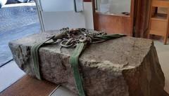 La stele di 5.000 anni fa  portata al museo  Ora verrà studiata