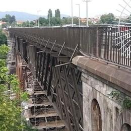 Paderno, il ponte San Michele  chiude ancora di notte