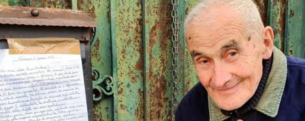 Airuno, Il professor Gilardi rassicura  «Qui sto come un re, anzi imperatore»