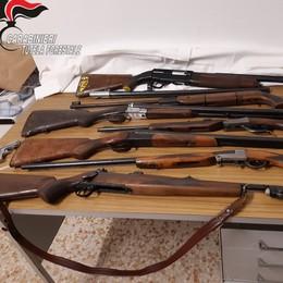 """Armi da caccia """"fuorilegge""""  Colichese denunciato"""