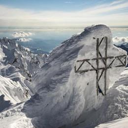 «Sui monti del Lecchese  alto rischio di valanghe»