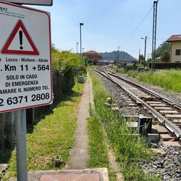 Muore travolto da treno  fra Oggiono e Sirone