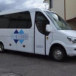 Ballabio, il bus debutta ma senza i cittadini  «Era voluto, temevamo assembramenti»