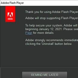 Addio Adobe Flash Player  Strumento per video e giochi