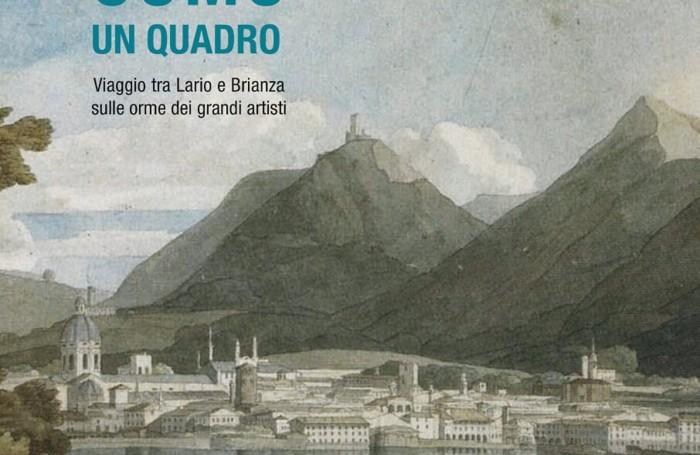 """Dettaglio della copertina del  libro di Pietro Berra """"Como un Quadro"""" (New Press Edizioni)"""