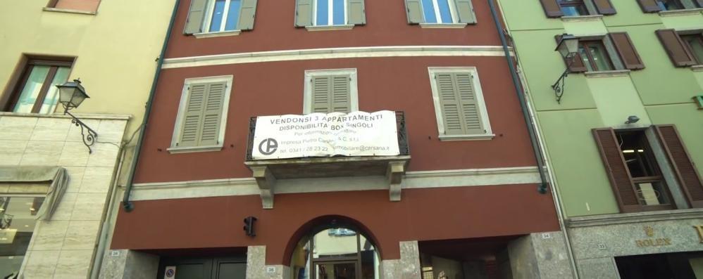 Lecco, All'asta beni Carsana  In via Cavour alloggi e box