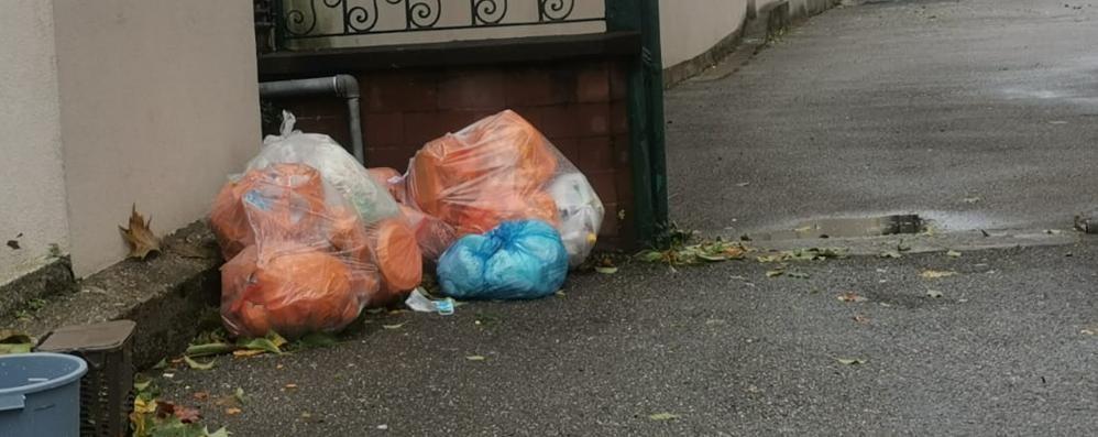 Lecco, Rivoluzione raccolta rifiuti  In estate con il sacco rosso