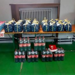 Mandello: 100 chili di riso e 30 panettoni  Il regalo di Natale di un benefattore