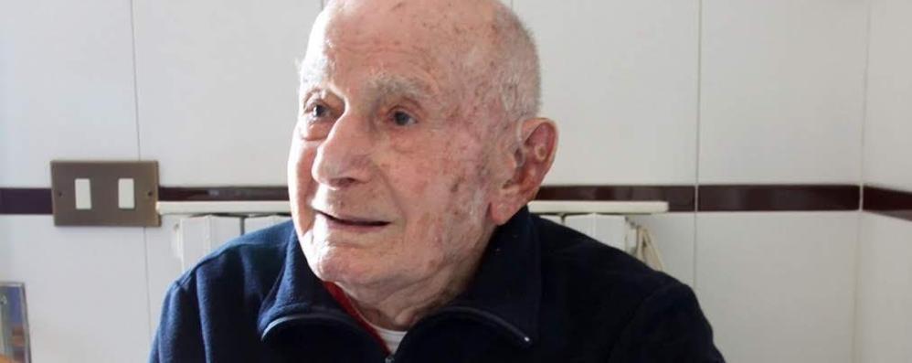 Mandello, addio a Vittorino  Morto di Covid a 102 anni