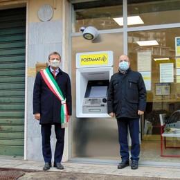 """Meno file per il contante   A Erve arriva il """"bancomat"""""""