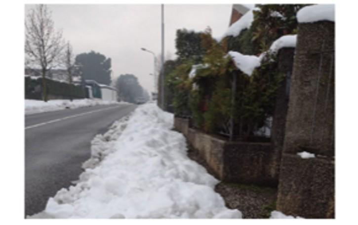 Nibionno, neve e rischi  I cittadini denunciano