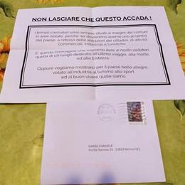 """""""No"""" al crematorio  altra lettera anonima"""