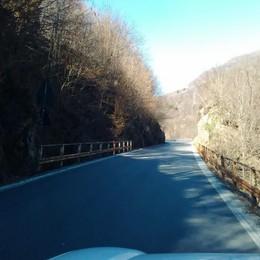 La Sp 62 resta chiusa  fra Taceno e Bellano