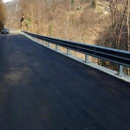 Provinciale 62 più larga e più sicura  Riaperta dopo quattro mesi di stop