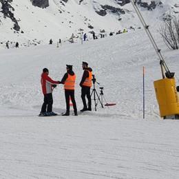 Autovelox per gli sciatori  Ma è solo uno scherzo
