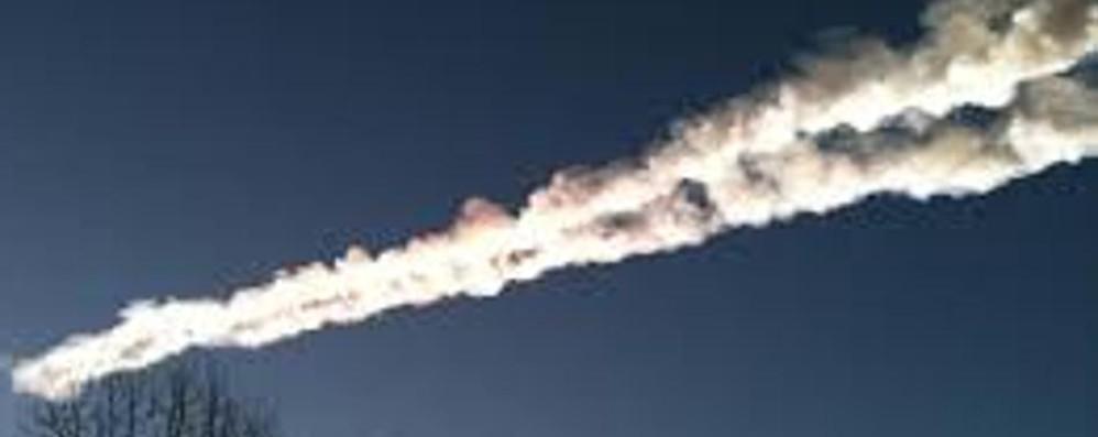 Meteorite avvistato  nei cieli del Nord Italia
