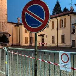 Cernusco, il campanile perde pezzi  Transennato il sagrato