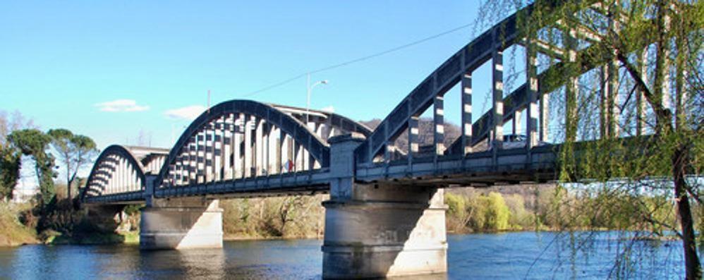 Scatta lo stop ai bisonti  sul ponte di Brivio