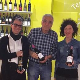 """""""Terre lariane""""  Le cantine unite   per il vino a casa"""