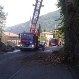 Massi caduti tra Bellano e Varenna  Riaperta la Provinciale 72