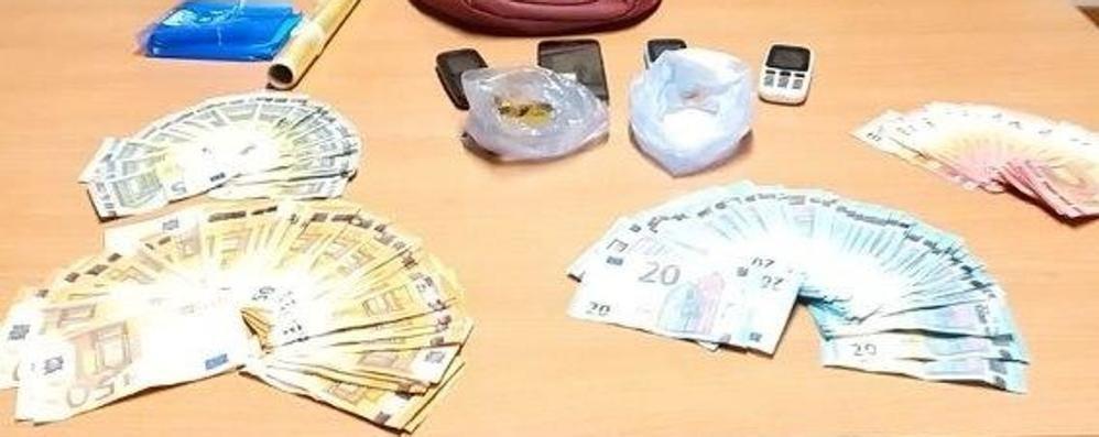 Spaccio di cocaina in centro a Merate  Due marocchini in prigione