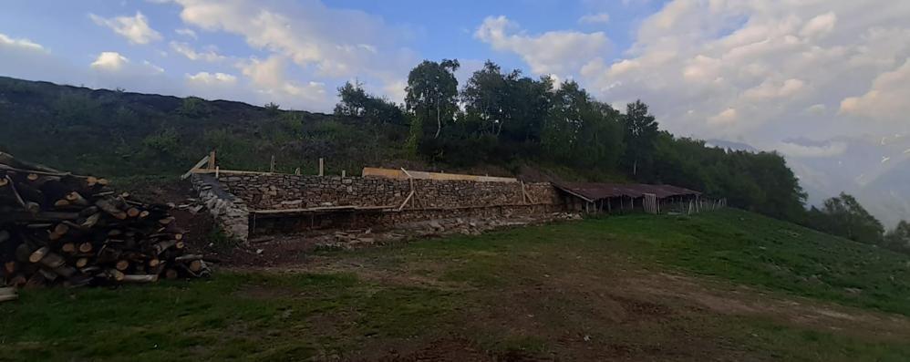 Via ai lavori all'alpeggio di Chiaretto  «Difendiamo agricoltura e territorio»