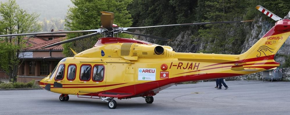 Donna cade in Grignetta  Caviglia fratturata
