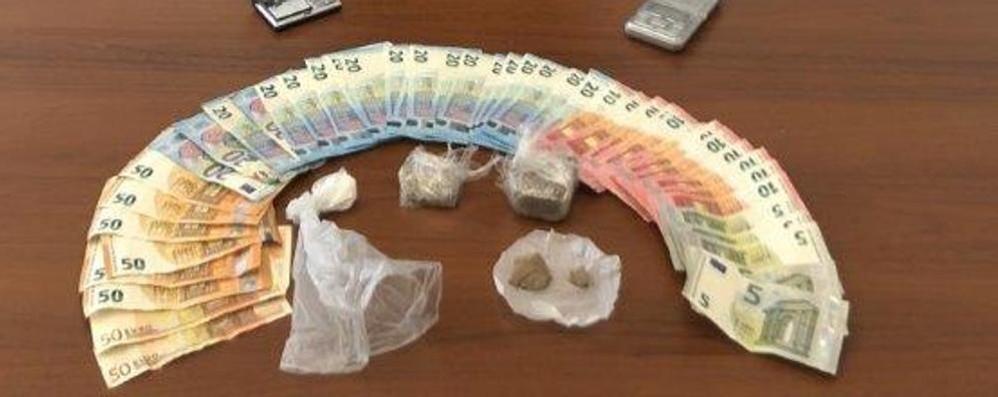 Cassago, spaccio nell'area della stazione  Arrestato con droga e contanti