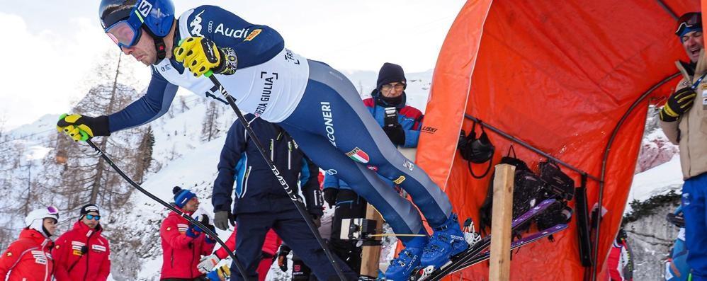 Il velocista Pietro Zazzi  nel gruppo nazionale
