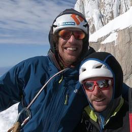 """Morto il """"Ragno"""" Bernasconi  Travolto da una valanga  a Ponte in Valtellina"""
