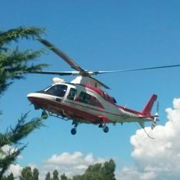 Si perdono sul Grignone  Recuperate con l'elicottero