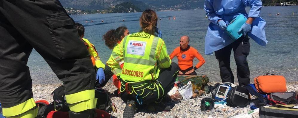 Lierna, annega a 23 anni  nelle acque di Riva Bianca