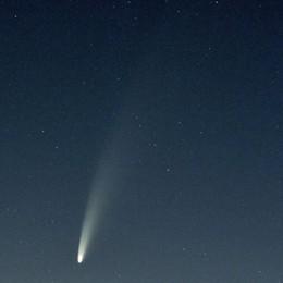 Occhi puntati verso il cielo  C'è la cometa Neowise