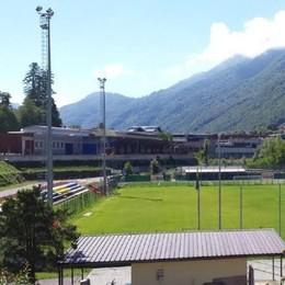 Campo sportivo di Cortenova  Fondo sintetico entro l'estate