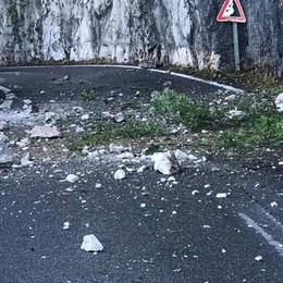 Frana, lavori a tempo di record  Riaperta la strada per Valbrona